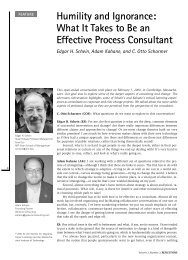 What It Takes to Be an Effective Process Consultant - Otto Scharmer