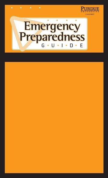 Quick Reference Guide - Purdue University Calumet
