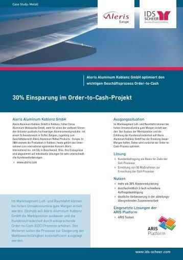 30% Einsparung im Order-to-Cash-Projekt