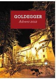 Prospekt Advent 2012 - Goldegg.at