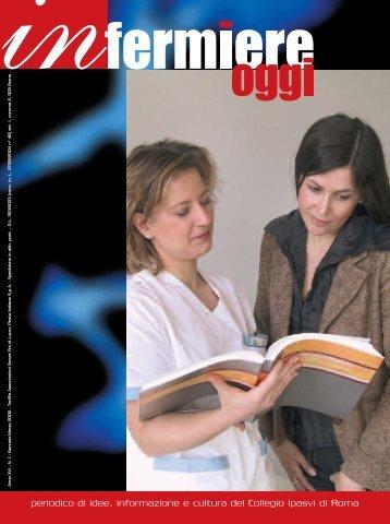 """Rivista """"Infermiere Oggi"""" numero 1 anno 2006 - IPASVI - Roma"""