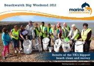 Beachwatch Big Weekend 2012 - Marine Conservation Society