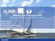 Making the Change to IPD + + - Tradeline, Inc.