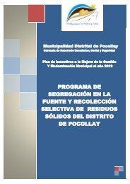 programa de segregación en la fuente y recolección selectiva de ...