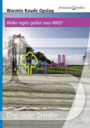 Welke regels gelden voor WKO - Provincie Drenthe