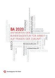 BA 2020 - Antworten auf die Fragen der Zukunft - BVTB