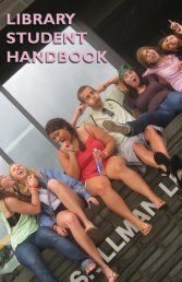 Library Student Handbook HERE - First Year Enlightenment ...