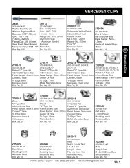 26 Mercedes Clips.indd - S&R Fastener Co., Inc.