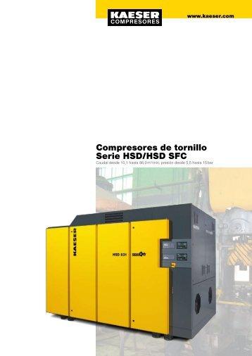Compresores de tornillo Serie HSD/HSD SFC - Kaeser - Kaeser ...