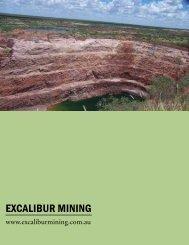 EXCALIBUR mININg - The International Resource Journal