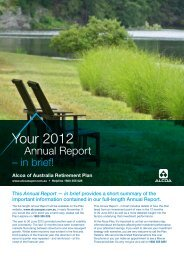2012 Annual report summary - SuperFacts.com