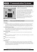 Communication Systems - Uni-Safe Electronics a/s - Page 3