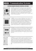 Communication Systems - Uni-Safe Electronics a/s - Page 5