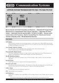 Communication Systems - Uni-Safe Electronics a/s - Page 7