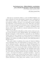 contribuições para a filosofia da linguagem e estudos discursivos