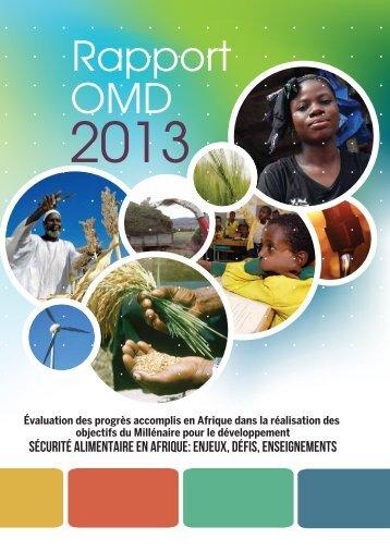 Rapport OMD 2013 - PNUD