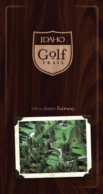 Idaho Golf Trail Brochure