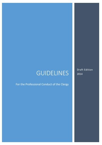 guidelines - draft new edition for 2014 - for web