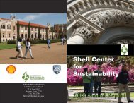 2008 Annual Report SCS-book.indd - Shell Center for Sustainability ...