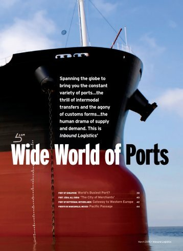 Wide World of Ports - Inbound Logistics