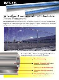 Wheatland Commercial / Light Industrial Fence ... - Wheatland Tube