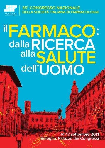 35° congresso nazionale della Società Italiana di Farmacologia - SIF
