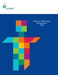 Customer Relationship Management CRM