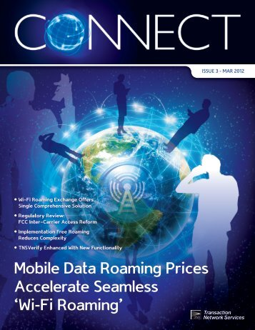 Mobile Data Roaming Prices Accelerate Seamless 'Wi-Fi ... - TNS