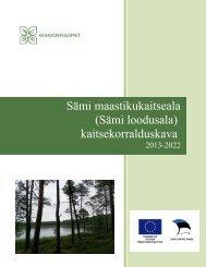 Sämi maastikukaitseala (Sämi loodusala ... - Keskkonnaamet