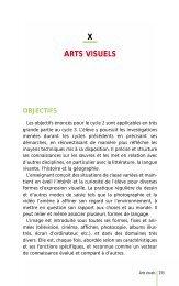 Cycle 3 - Arts visuels