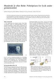 Hundrede år efter Bohr: Nobelprisen for fysik under ... - Kvant