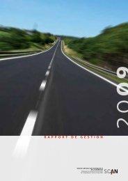 Rapport de gestion 2009 - Scan