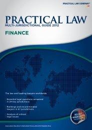 PRACTICAL LAW - Bowman Gilfillan Attorneys