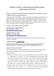 Požadavky ke zkoušce z českého jazyka pro zahraniční zájemce o ...