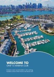 sales brochure - ONE°15 Marina Club