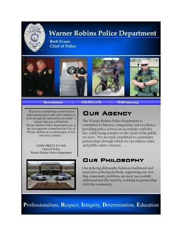 recruitment draft.pub - Warner Robins Police Department