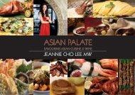 Asian Palate Book Brochure