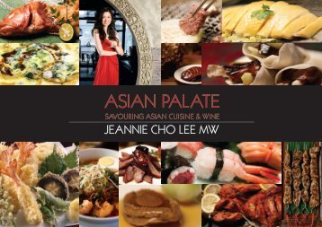 Asian Palate Book Brochure
