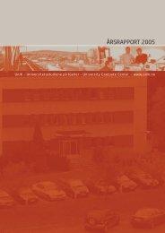 ÅRSRAPPORT 2005 - Unik
