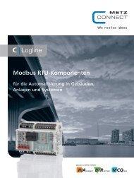 Modbus RTU-Komponenten - METZ CONNECT