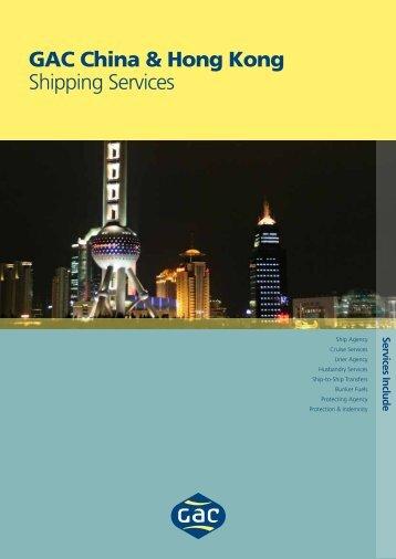 GAC China & Hong Kong Shipping Services