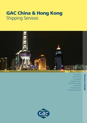 GAC China & Hong Kong Shipping Services