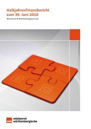 Halbjahresfinanzbericht zum 30. Juni 2010