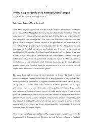 seva intervenció - L'actualitat religiosa des de Catalunya