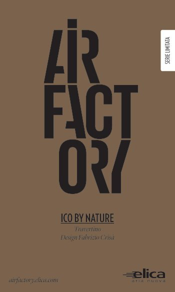Flyer Ico By Nature - AirFactory - Elica