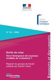 Rapport cohen n°22.indd - La Documentation française