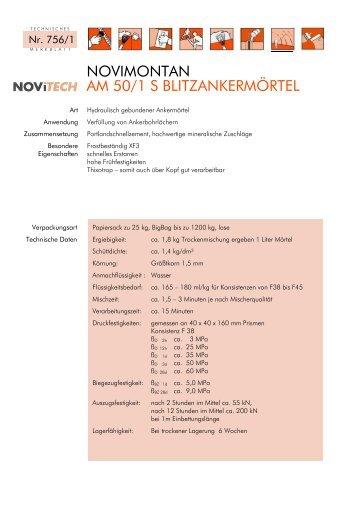 novimontan am 50/1 s - Schretter & CIE