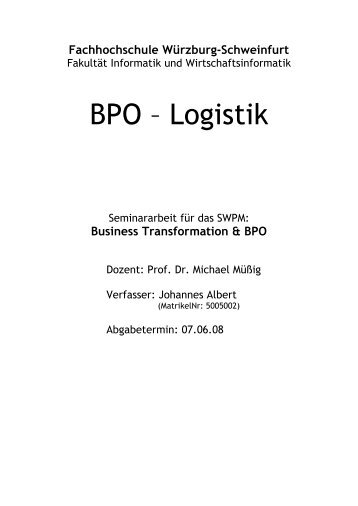 Business Transformation & BPO