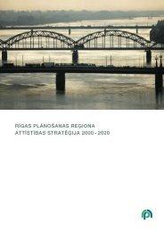 Rīgas plānošanas reģiona attīstības stratēģija 2000.-2020.gadam