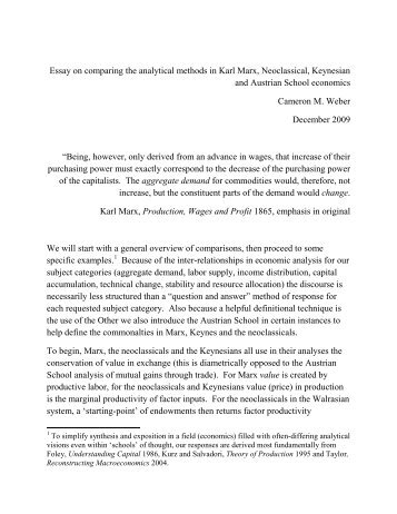How To Write A Thesis Statement For A Essay Essay On Comparing The Analytical Methods In Karl Marx  Health Awareness Essay also Health Insurance Essay The Constitution Of Capital Essays On Volume  Of Marxs Capital Animal Testing Essay Thesis